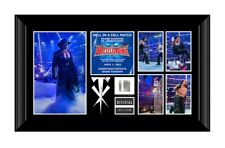 WWE Undertaker Shane McMahon WrestleMania 32 Commemorative Framed Plaque /500
