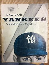 1963 New York Yankees Yearbook