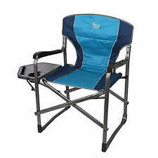 Timber Ridge Folding Director's Chair With Side Table NEW FREE SHIPPING