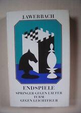 Endspiele - Springer gegen Läufer, Turm gegen Leichtfigur, Juri Awerbach (1989)