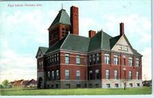 PARSON, Kansas  KS    HIGH SCHOOL  ca 1910s    Postcard