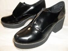 Shellys London Chero platform oxford Bootie Block US 10 Urban Outfitters New