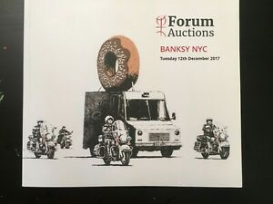 Banksy - Forum Auction - 2017 Catalog - Full Color Pages -