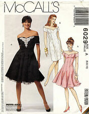 McCall's Misses' Dresses and Petticoat Pattern 6029 Size 6-10