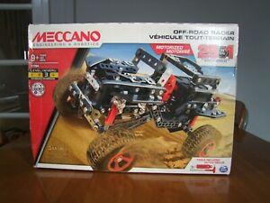 Meccano Motorised Off Road Racer 25 Models in 1. box has damage.