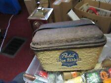 Original 1950s Cooler From Pabst Blue Ribbon Beer Old Vtg Bar Bottle Can Pub
