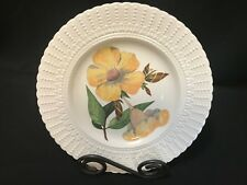 "Royal Cauldon ~ Flowers of the Caribbean Plate ~ 9 1/2"" ~ ALLAMANDA"