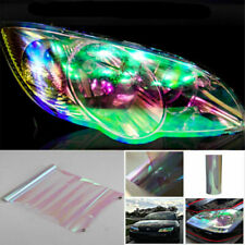 Clear Chameleon Colorful Clear Autos Headlight/Tail/Fog Light Vinyl Tint Sticker