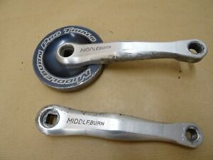 Middleburn RS7 Pro Trials Crank 20T 165mm Thick Alloy Bashguard Strong!