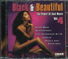 DOPPEL-CD  BLACK & BEAUTIFUL  POWER OF SOUL MUSIC VOL.4   RTL UNIVERSAL 1998