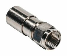 Glaxio Compression F connector DIA 7.00mm metal 10 pcs