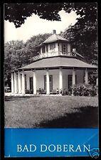 tour. Broschüre, Bad Doberan, 1981