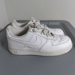 Nike Air Force 1 Women's Size 9 Shoes All White Athletic Basketball Sneakers
