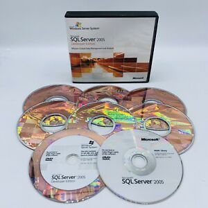 Microsoft SQL Server 2005 Developer Edition, Full Version, w/ Key, Genuine, VG