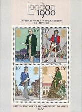 Great Britain 1979 Second Miniature Stamp Sheet LOT OF 20 1980 MNH
