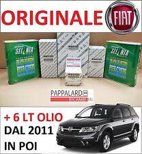 KIT TAGLIANDO 4 FILTRI ORIGINALI + OLIO SELENIA FIAT FREEMONT 2.0 JTD MULTIJET