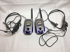 Battlebots Headset Walkie Talkie Set 2001 Tiger Electronics Working