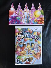 It's My Birthday - Nintendo Wii - Includes Party Hat.