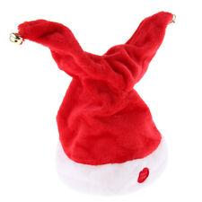 Christmas Xmas Novelty Santa Hat Cap for Musical Singing Moving Dancing