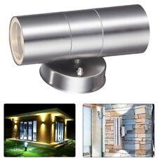 ZLC038W Gu10 8-Watt LED Wall Light Stainless Steel Double Outdoor
