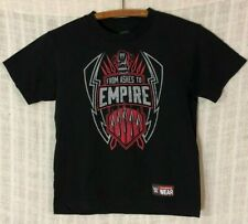 Roman Reigns WWE Authentic YOUTH From Ashes To Empire Black S/S T-Shirt~Small S
