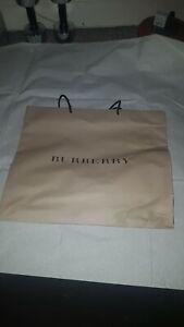 Genuine Burberry Paper Carrier Bag 48x41cm