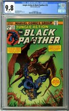 Jungle Action & Black Panther #15 (1975) CGC 9.8 White Pages