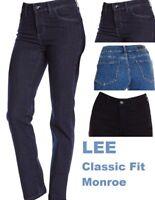 Lee Jeans Women's Classic Fit Pant Monroe Straight Leg Pants New no tags