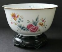 "1981 Avon American Heirloom Gold Trimmed Porcelain ""Independence Day"" Bowl -MINT"