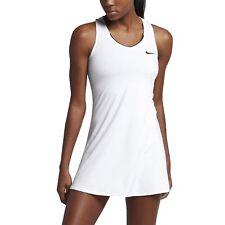 WOMENS NIKE COURT PURE TENNIS DRESS SIZE M (872819 100) WHITE