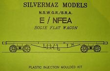"E FLAT BOGIE WAGON KIT OF THE N.S.W.G.R.by ""Silvermaz Model Railways"" HO"