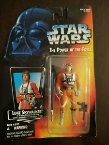 Kenner Star Wars POTF Luke Skywalker In X-Wing Fighter Pilot Gear Action Figure