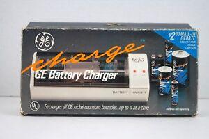 GE Nickel Cadmium Battery Charger (AA, AAA, C, D & 9v)