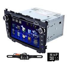 """8"""" Car GPS DVD Player Bluetooth Radio RDS for Honda CR-V CRV 2008 2009 2010 2011"""