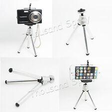 Silver Mini Flexible Metal Tripod Stand For Digital Camera&Video Holder PHONE