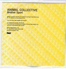 (AW842) Animal Collective, Brother Sport - DJ CD