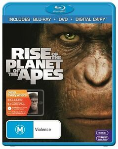 Rise Of The Planet Of The Apes (Blu-ray, 2011, 2-Disc Set). Fantastic, moving