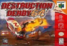 DESTRUCTION DERBY 64 N64 NINTENDO 64 GAME COSMETIC WEAR