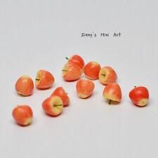 A dozen of (12 PC ) 1:12 Miniature Macintosh Apples/ Miniature Fruit P070