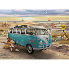 NEW Eurographics Love And Hope Volkswagen VW Hippie Bus 1000 Piece Jigsaw Puzzle