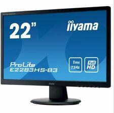 "Moniteur LCD iiyama ProLite E2283HS-B3 54,6 cm (21,5"") Full HD"