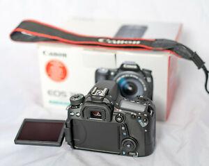 Canon EOS 70D Digital SLR Camera Body FAULTY