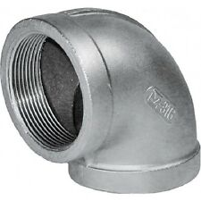 """1/2"""" BSP Elbow 90° 316 Stainless Steel 150lb Pipe Fitting"""