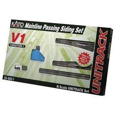 Kato USA N V1 Mainline Passing Siding Set KAT208601