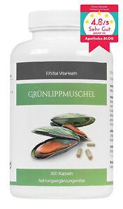 Grünlippmuschel 300 Kapseln- hoch konzentriert, Lyprinol Glykosaminoglykane.+