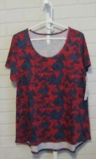Women's LuLaRoe Top Pullover Short Sleeve XL NWT
