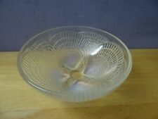 """R. Lalique 5.2"""" Coquilles Opalescent Art Glass Shell Bowl, c1920 Signed & #'d"""