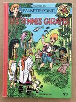 BD EO 1995 Jeannette pointu 9 Les FEMMES GIRAFES / Wasterlain Dr Poche Spirou