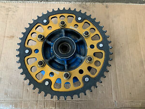 Kawasaki Zzr600 Rear Sprocket And Carrier From a 1992 model
