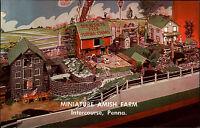 Intercourse Amerika USA Pennsylvania AK ~1960/70 Amishland Amish Farm Miniature